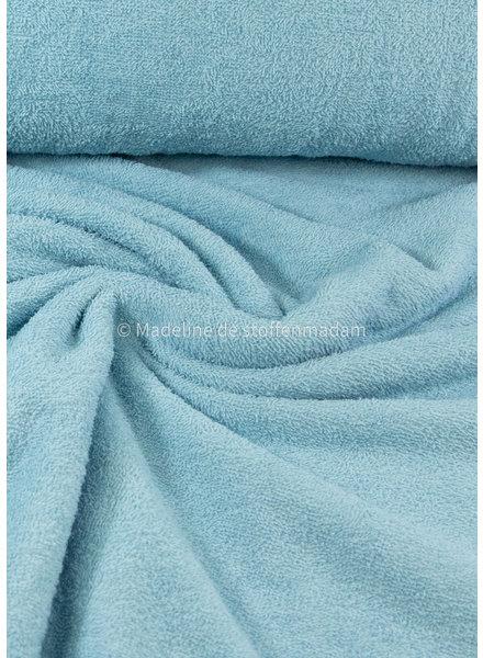 lichtblauw - badstof