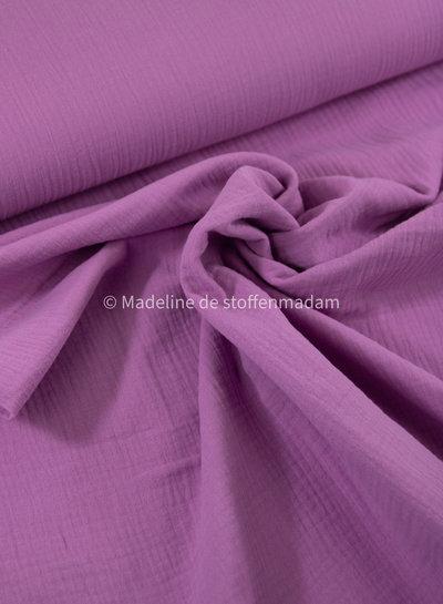 M purple pink 885 - tetra double gauze
