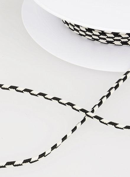 M touw vlecht - zwart 14