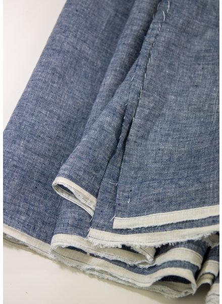 Merchant & Mills denim blue washed linen