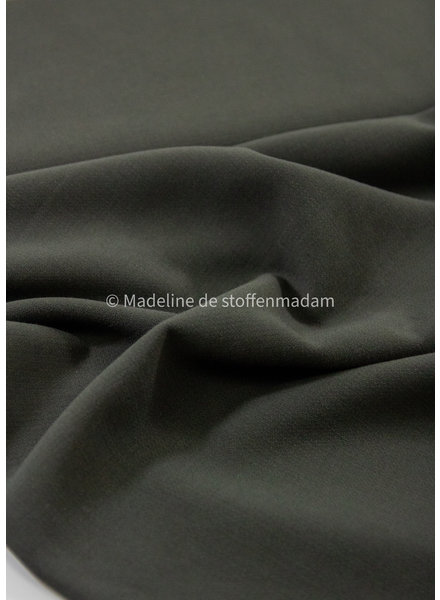 A La Ville khaki - Natan broeken en kleedjes kwaliteit - licht rekbaar