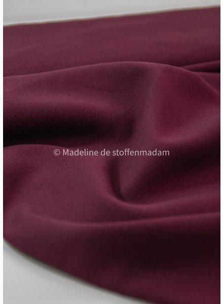 A La Ville bordeaux - Natan pants and skirts quality - stretchable