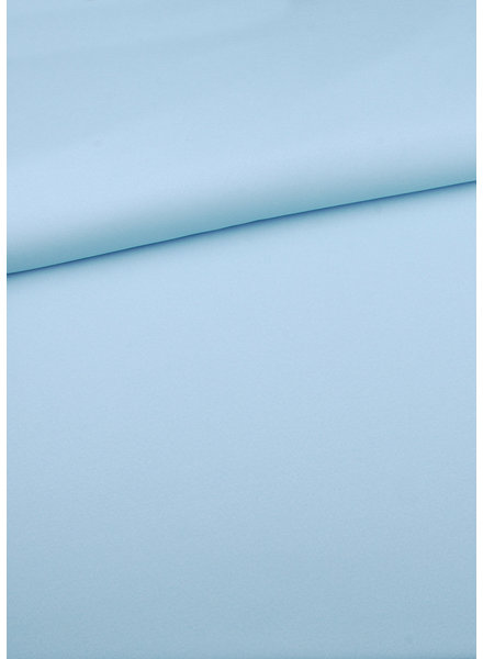 M pastel blue  - summer viscose crepe with 3% elasthan