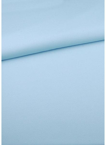 M pastelblauw  - zomerse viscose crepe met 3% elasthan