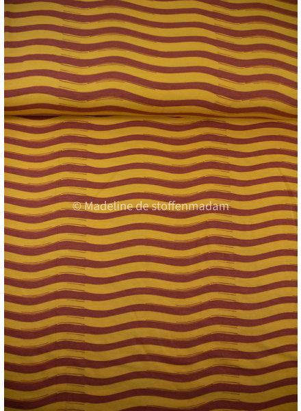 M cognac waves - tricot