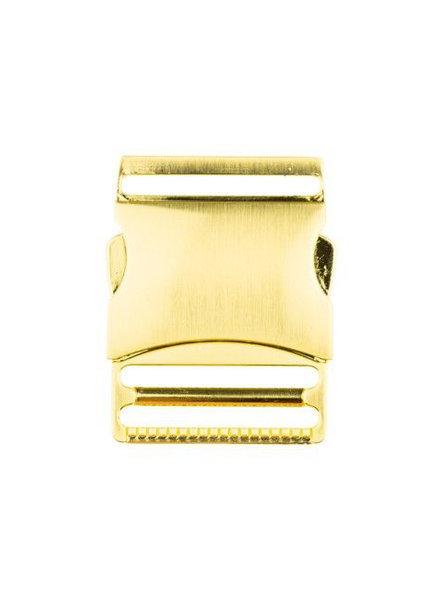 M metalen klikgesp goud - 40 mm
