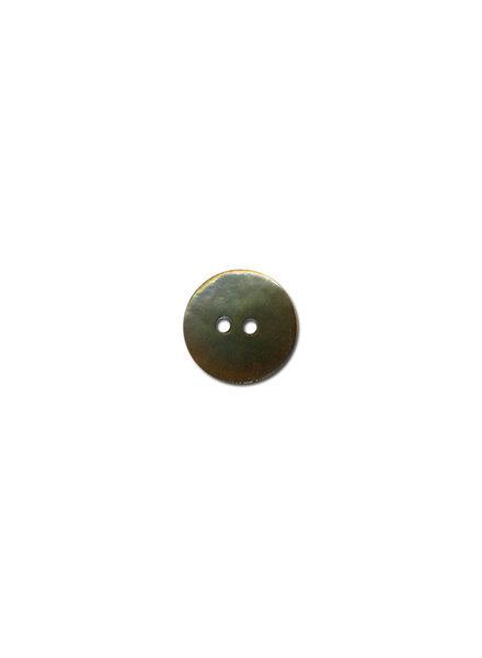 taupe parelmoer knoop - 15 mm