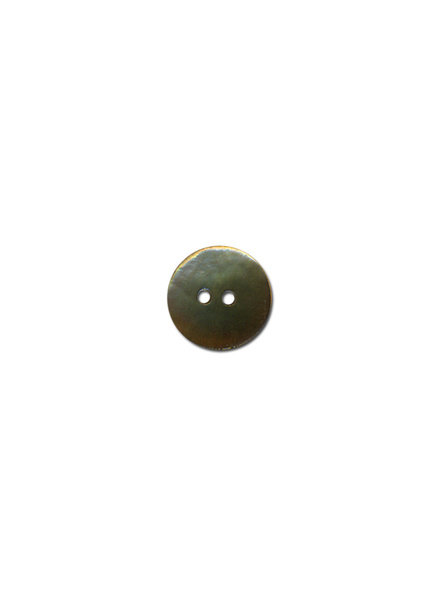 taupe pearl button - 15 mm