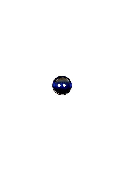 M marineblauw - hemden knoopje - 9 mm