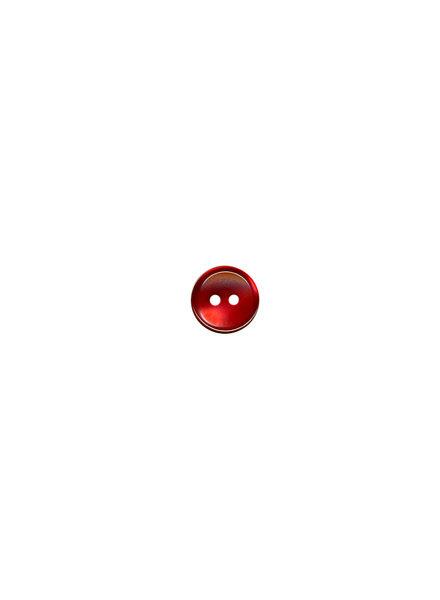 M rood - hemden knoopje - 11 mm