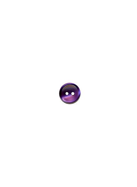 M paars - hemden knoopje - 11 mm
