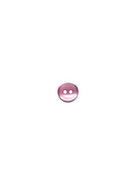M roze - hemden knoopje - 11 mm