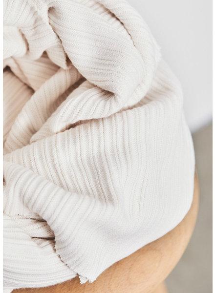 Mind The Maker creamy - organic selanik knit - 180 cm breed!