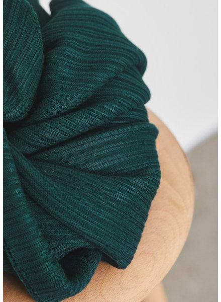 Mind The Maker bottle green - organic selanik knit - 180 cm breed!