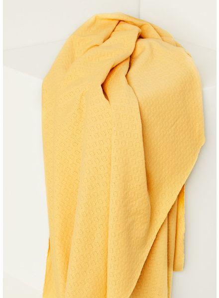 Mind The Maker blonde yellow -  organic gem pointelle - 180 cm width!