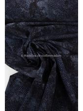 M deep sea dark navy blue - Italian lycra