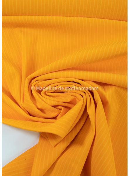 M sunny yellow  with subtle stripe - Italian lycra