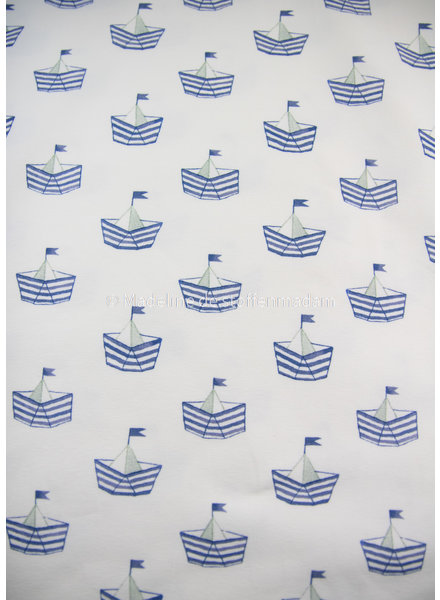 Swafing boats blue - jersey