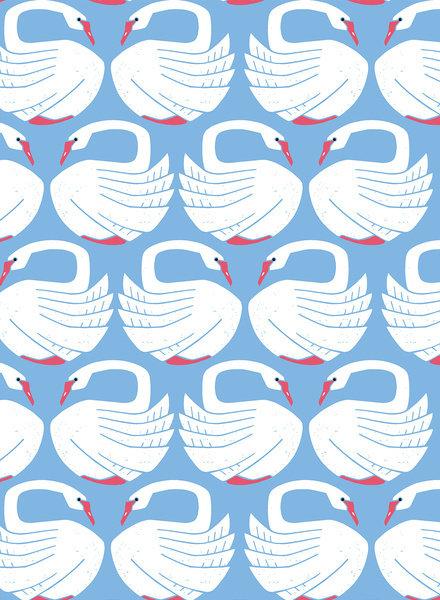 Loving Swans on a spring day - katoen