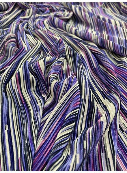 M color explosion - crincle plisse lila