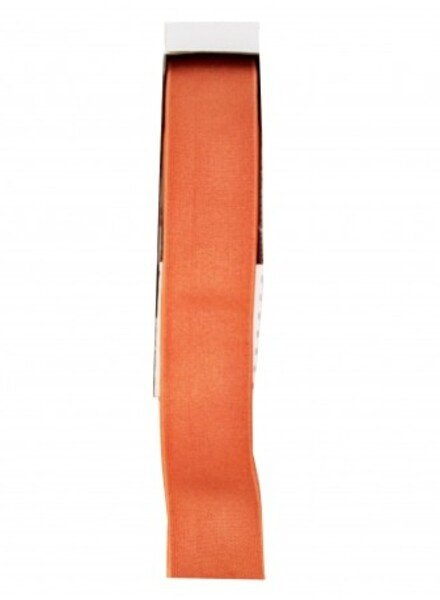 mandarijn shiny  - taille elastiek 40 mm