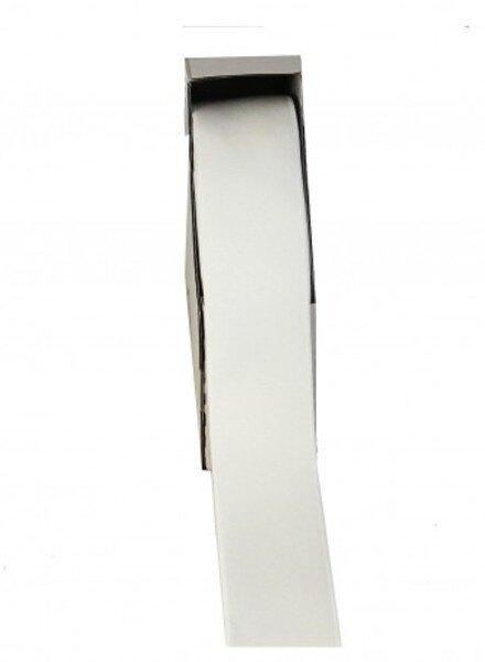 gebroken wit shiny  - taille elastiek 40 mm