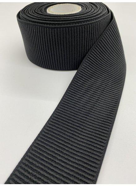 M black ribbed - waist elastic 60 mm