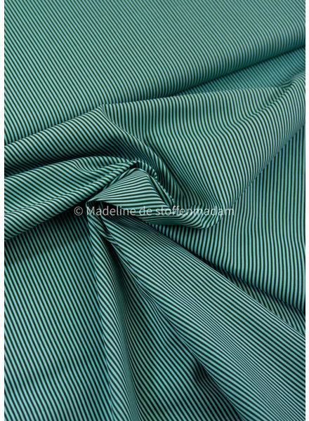 M mint striped cotton