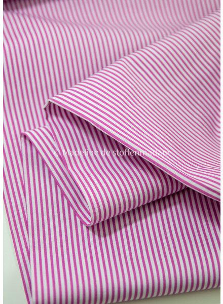 M pink striped cotton