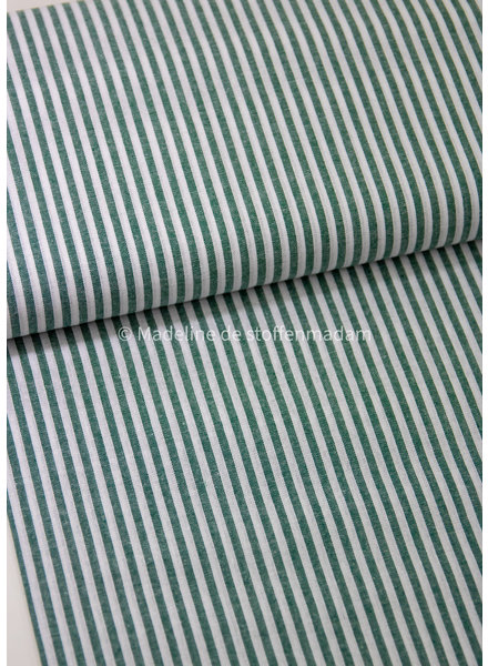 M green striped cotton - top quality