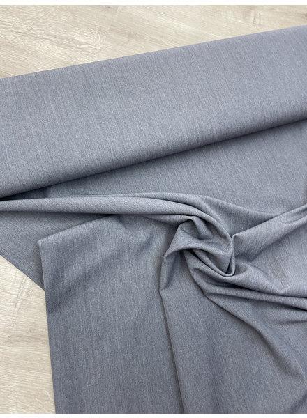 grey supple gabardine