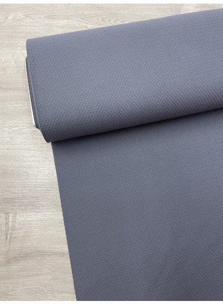 grijs - katoen met structuur