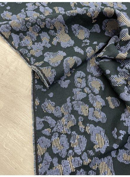 green diagnoal - soft woven jacquard