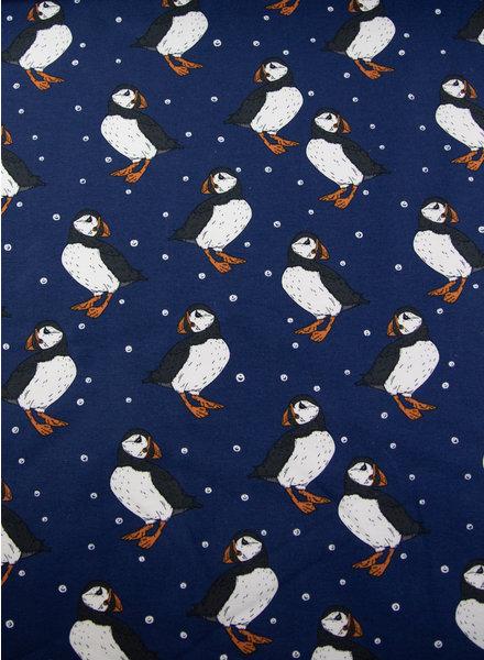 Bloome Copenhagen GOTS sweater- Atlantic puff - Navy Peony