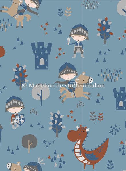 M baby dragon blue - jersey