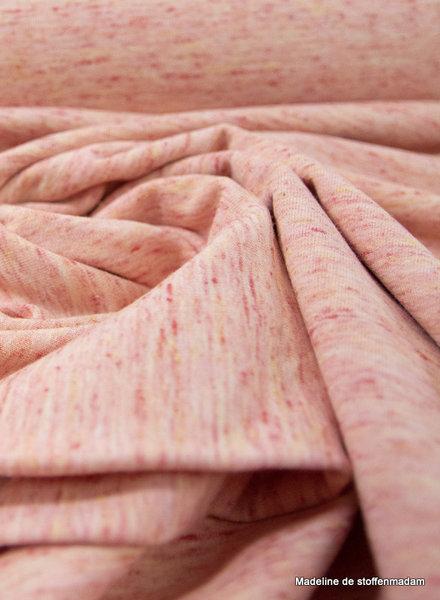 koraal artISTIeke gemeleerd - french terry