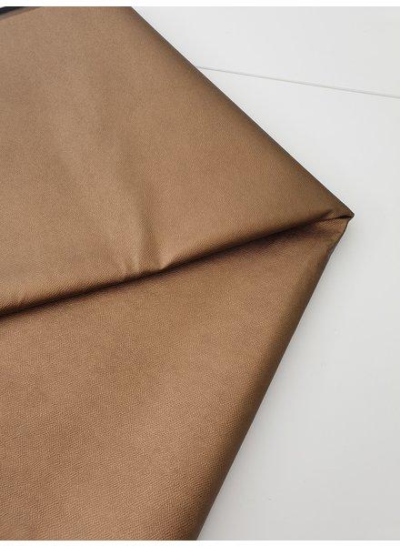 snake texture brons- metallic vegan imitation leather