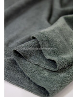 M grey bamboo towel fabric - royal look