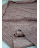 M dusty pink bamboo towel fabric - royal look