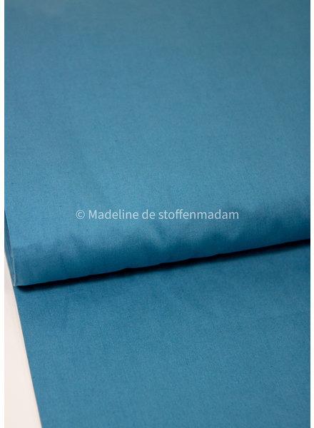 Fibremood Onah - blauw effen katoen