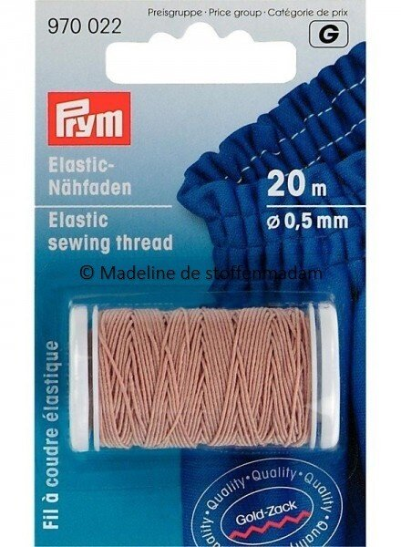Prym elastisch garen nude - Prym