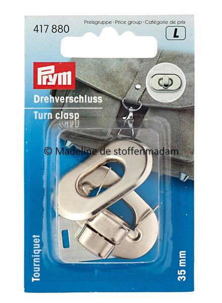 Prym Turn clasps silver - Prym