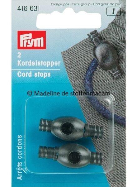 Prym 2 cord ends  black - Prym