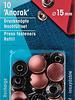 Prym refill pack anorak buttons 15 mm bronze - 10 stuks - Prym