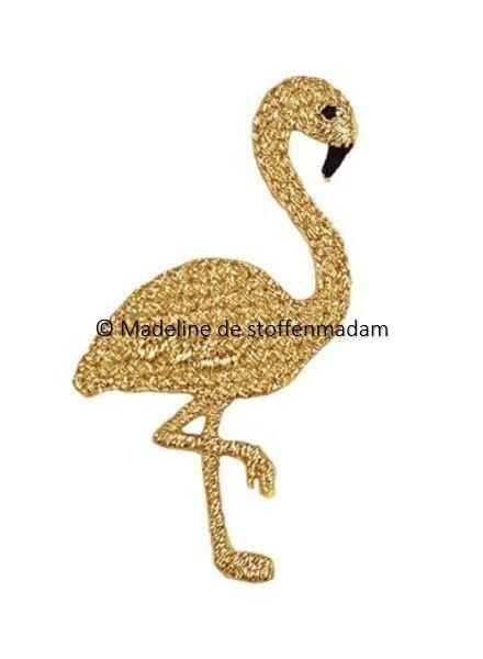Prym flamingo goud - strijkapplicatie