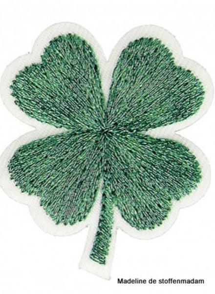 M mini klavertje vier - groen applicatie 003