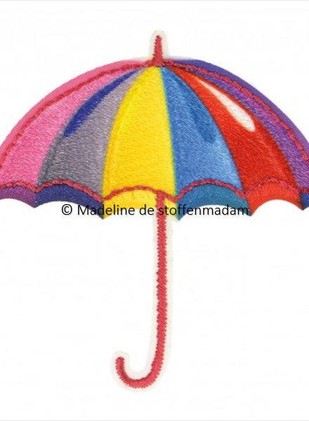 M paraplu regenboog - applicatie  001
