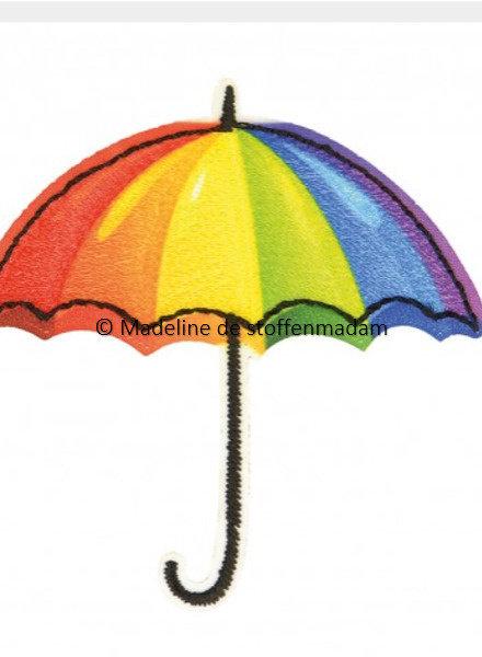 M umbrella rainbow  - application 003