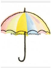 M paraplu regenboog  - applicatie  002