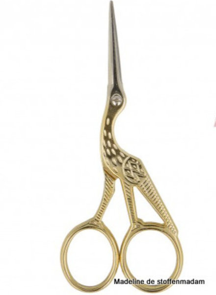 embroidery scissors - gold